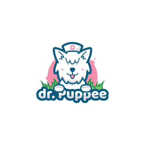 Puppy logo for pee mat products
