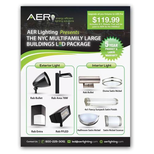 AER Lighting Flyer