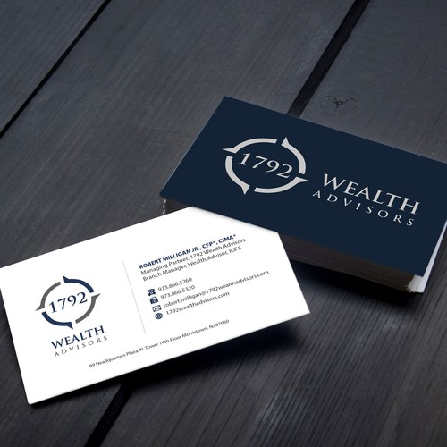 Wealth Advisors Business Card
