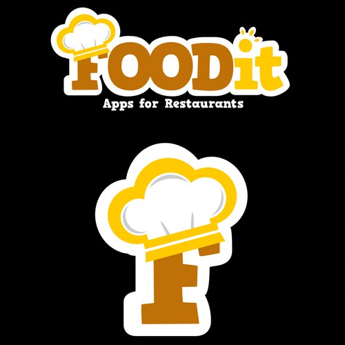 A logo FOODit, should be seen by Resturant owners