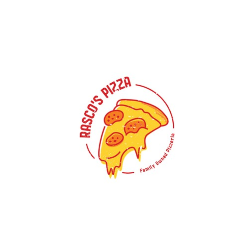 Logo Concept for Rasco's Pizza