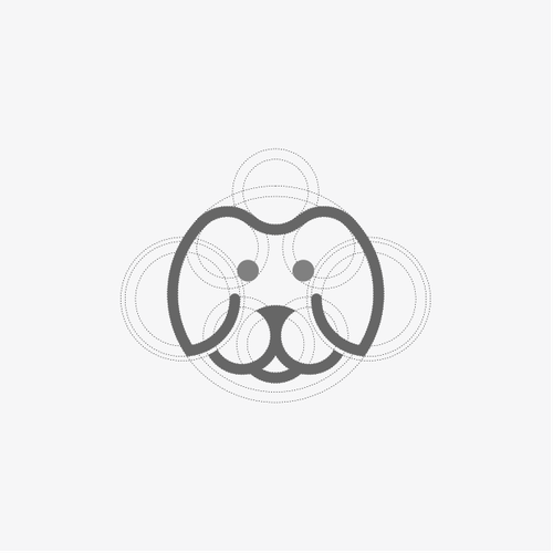 SIMPLE DOG LOGO