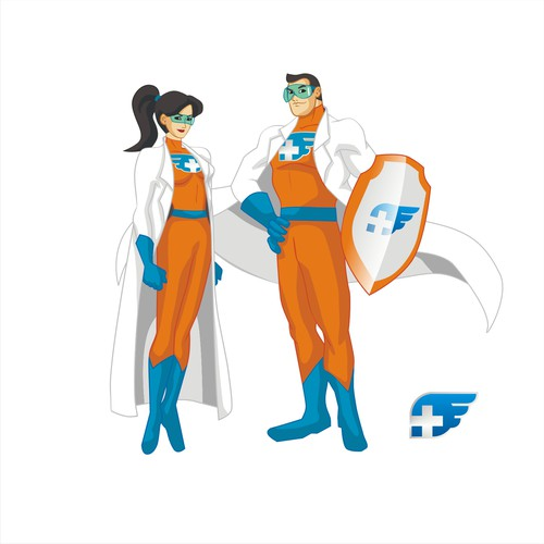 Create a set of Healthcare IT superheros
