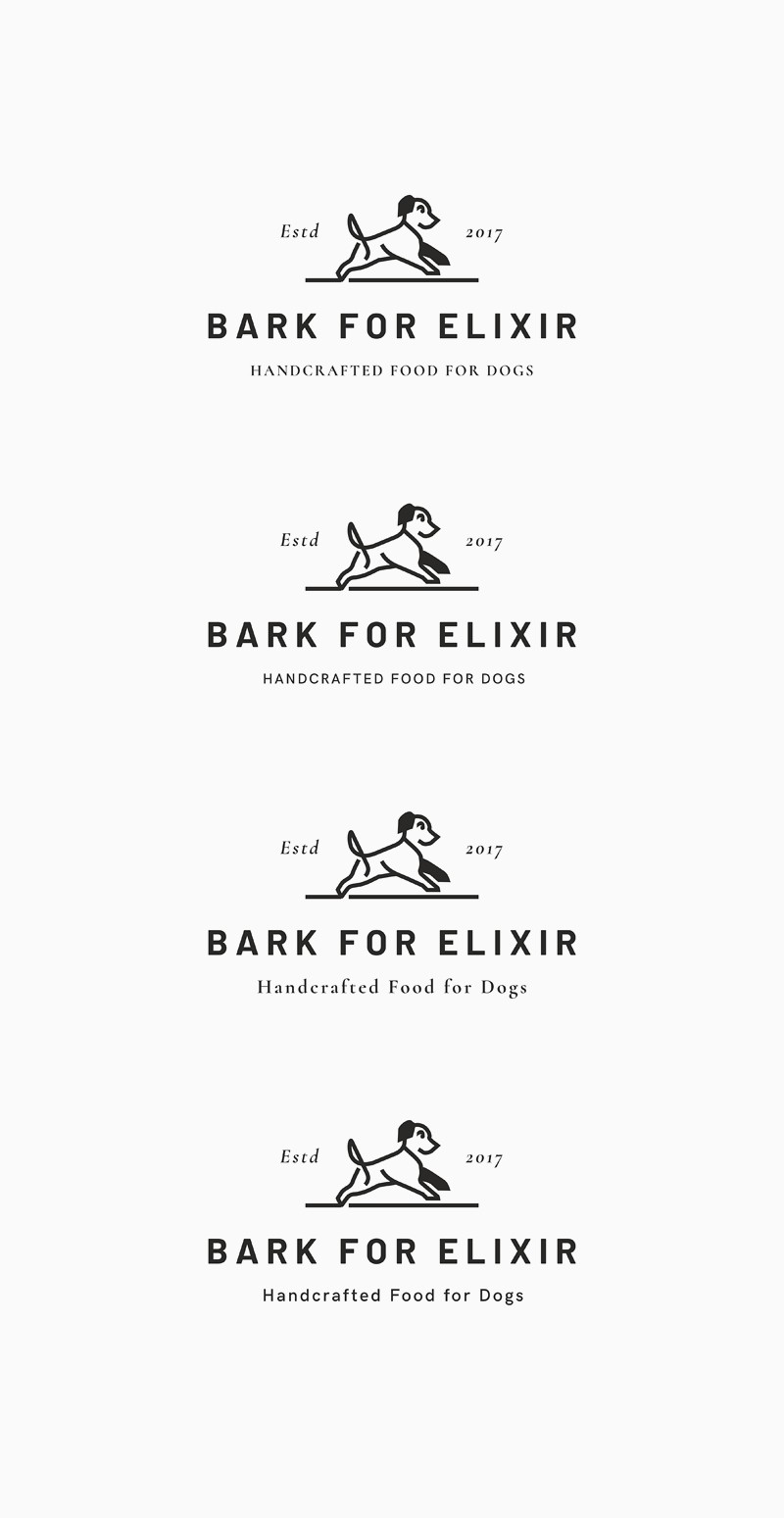 Product label for handcrafted treats for pets