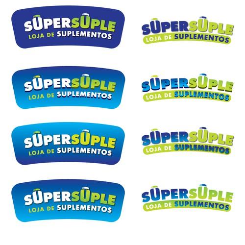 Logo Para Loja De Suplementos Classe Média