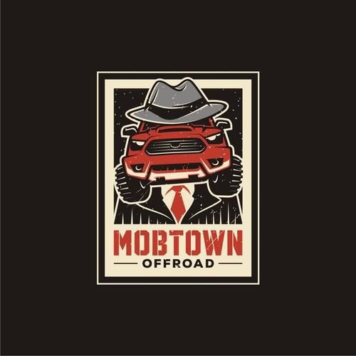 Mobster illustration for Mobtown Offroad