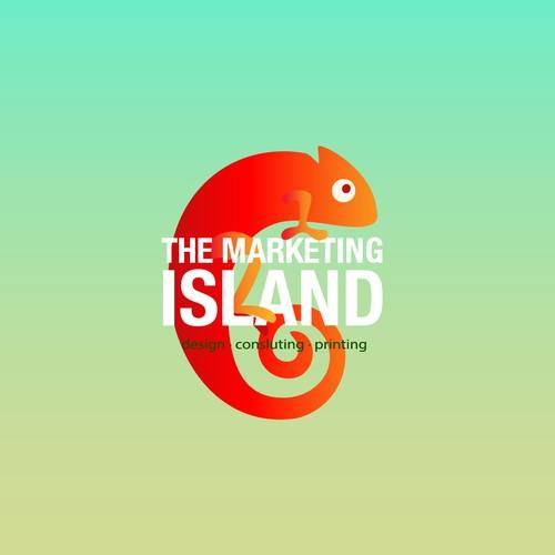 Logo for a marketing company