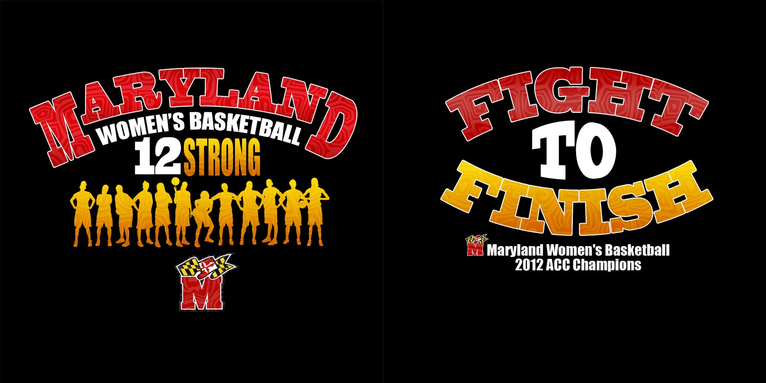New t-shirt design wanted for Maryland Women's Basketball
