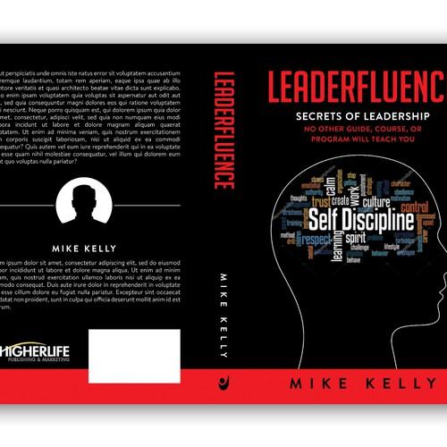 Book cover design for LEADERFLUENCE