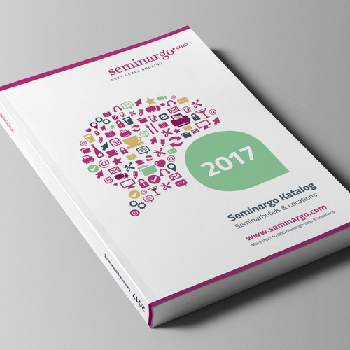Cover design for catalogue