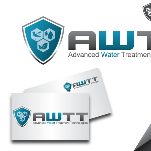 Design a logo for a fast growing water treatment company & help the environment.