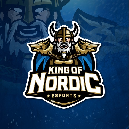 King of Nordic - Viking theme (logo)