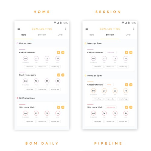 App Design for Akwai