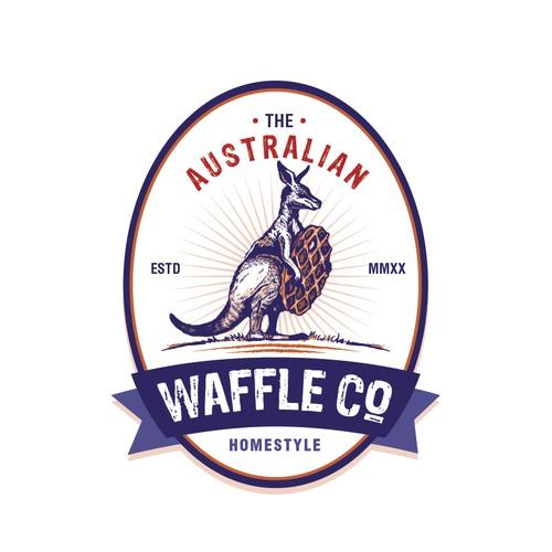 Waffle Company Logo