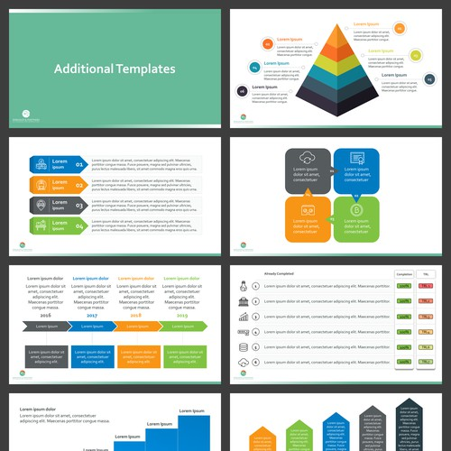 A Collection of easy to Use and Customize Infographics in PPT & Excel