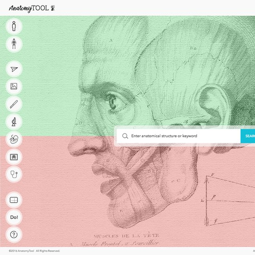 Landing page for AnatomyTool