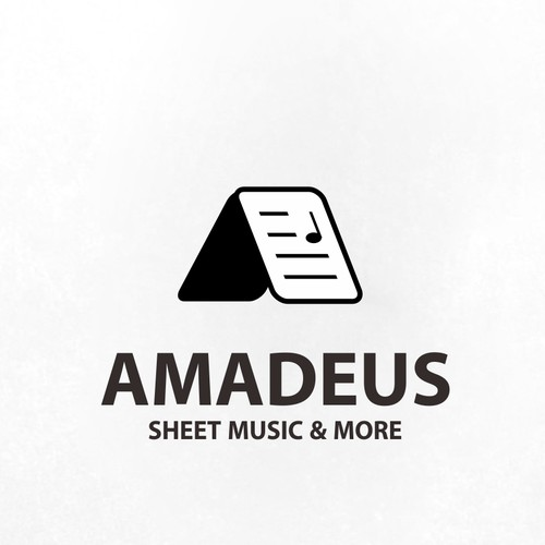 sheet music logo