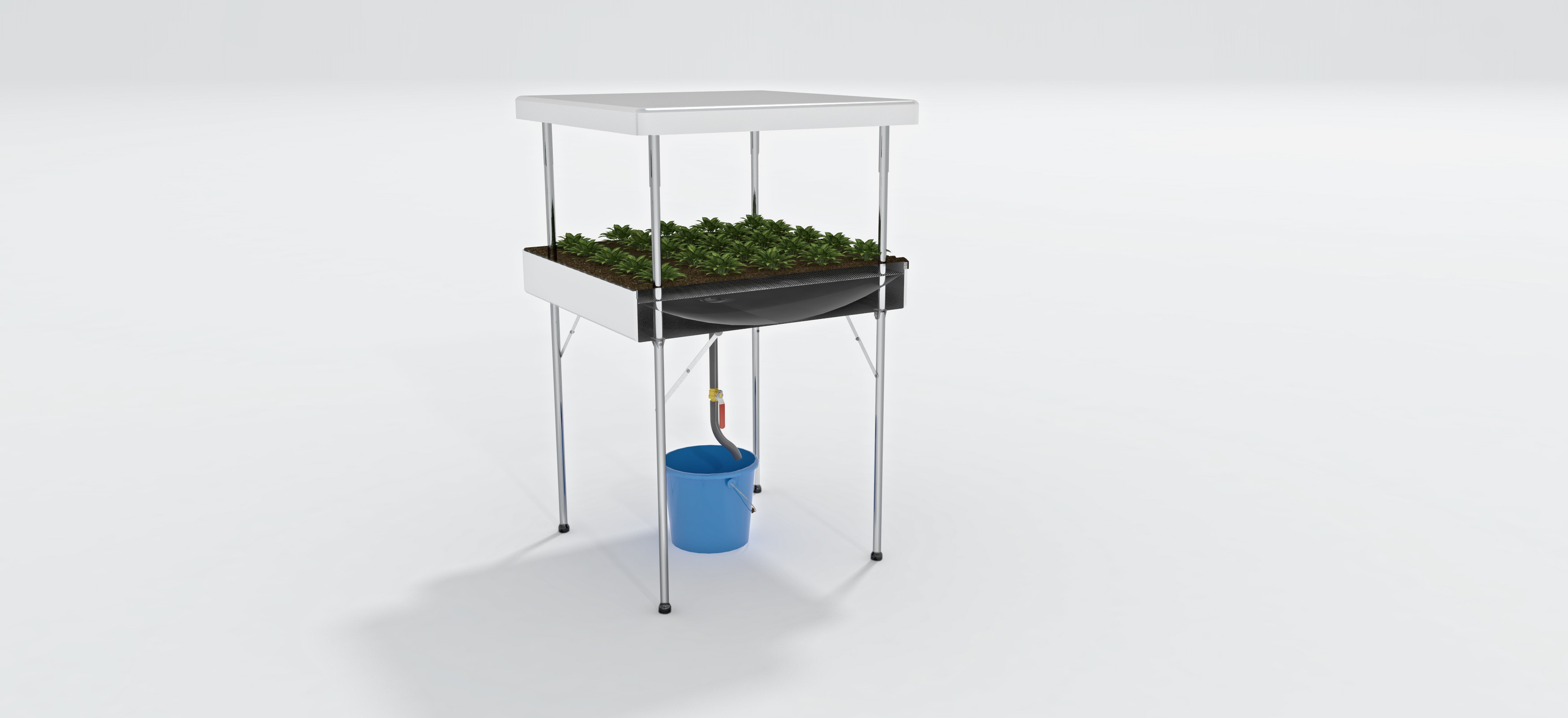 Vegetative Plant Growing Table