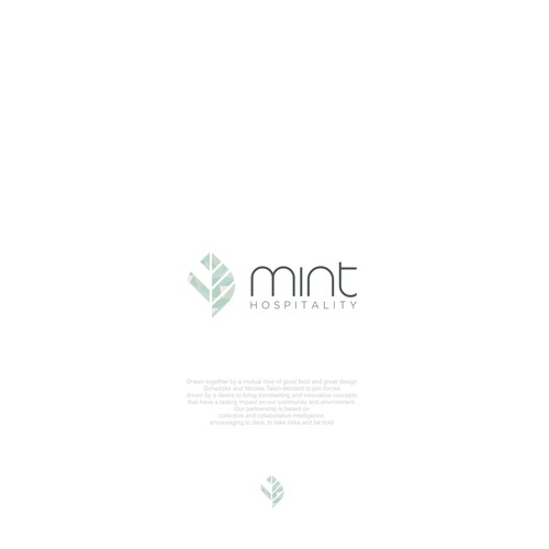 Mint (Hospitality word is Optional)