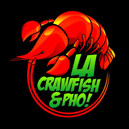 Epic Logo Needed for LA Crawfish & Pho!