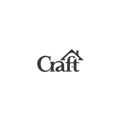 Logo design for Craft, a housing company.