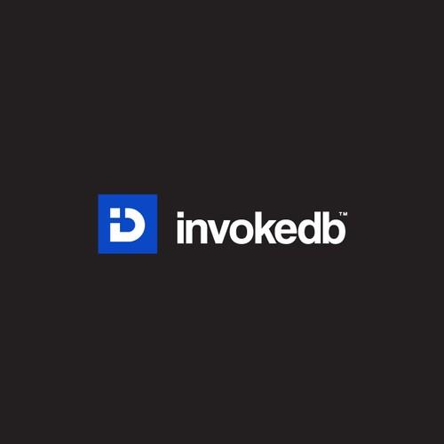 Minimalist Letter Mark Logo Design for invokeDB