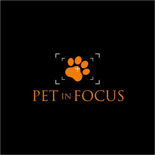 NEW logo and business card for Pets In Focus