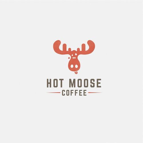 Bold logo for coffee shop
