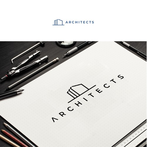 Modern concept logo architectural