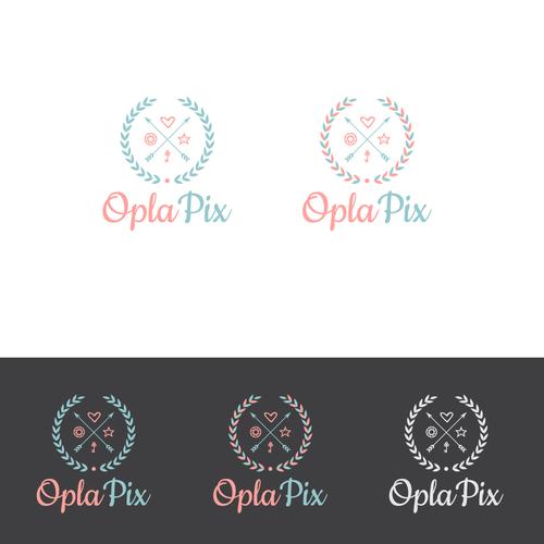 Logo design for OplaPix