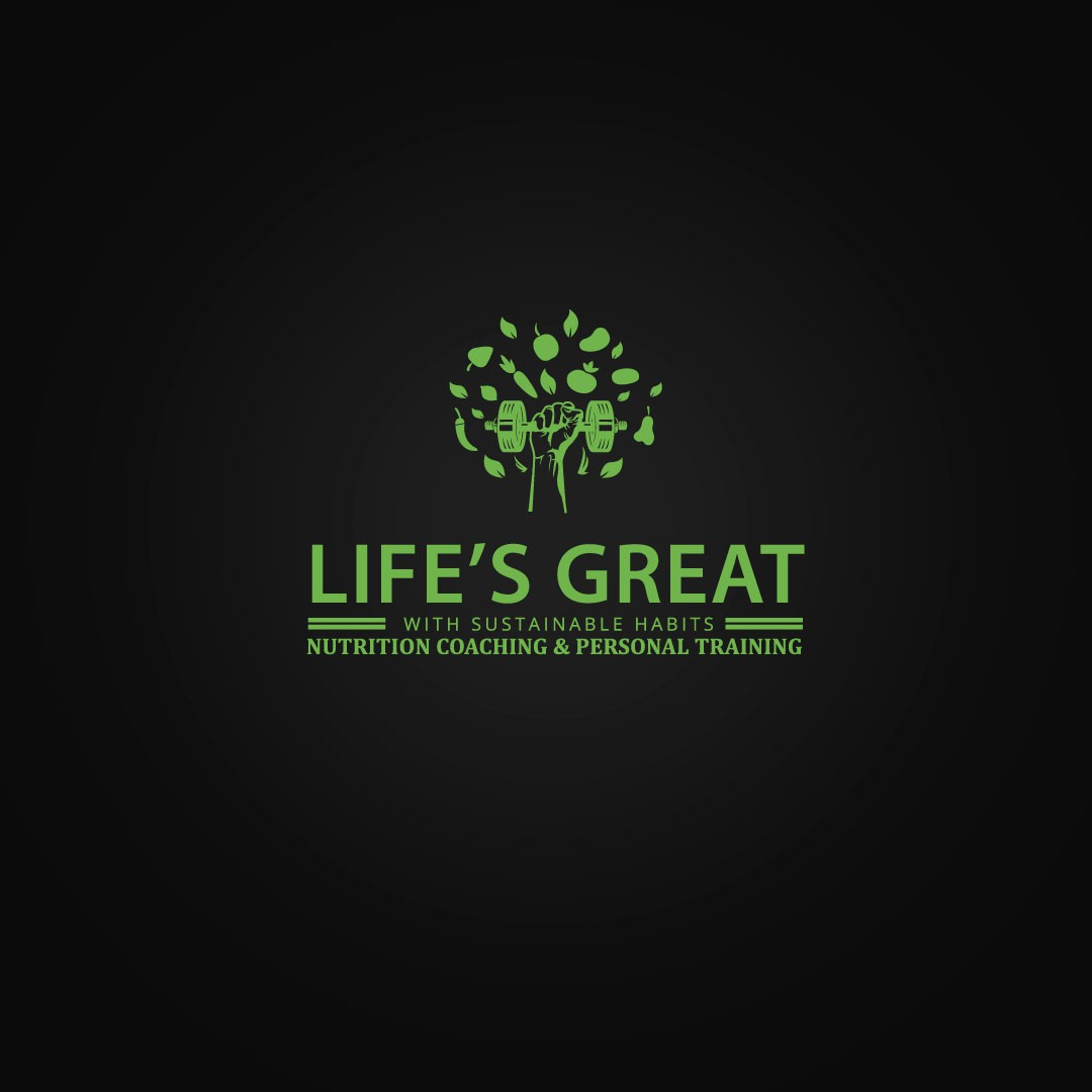 Create a trustworthy logo for Nutrition Coaching and Personal Training