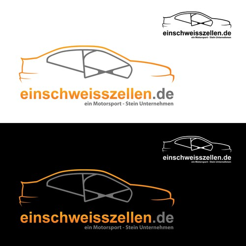 Logo for a motorsports company in Germany
