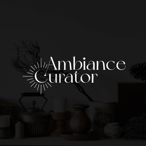 """Logo concept for """"Ambiance Curator"""""""