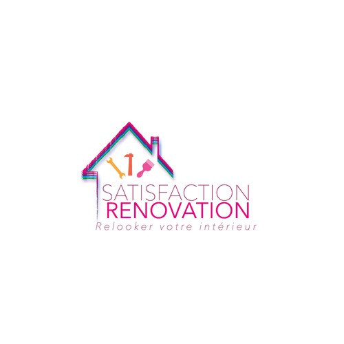 Logo pour une agence de rénovation de biens immobiliers