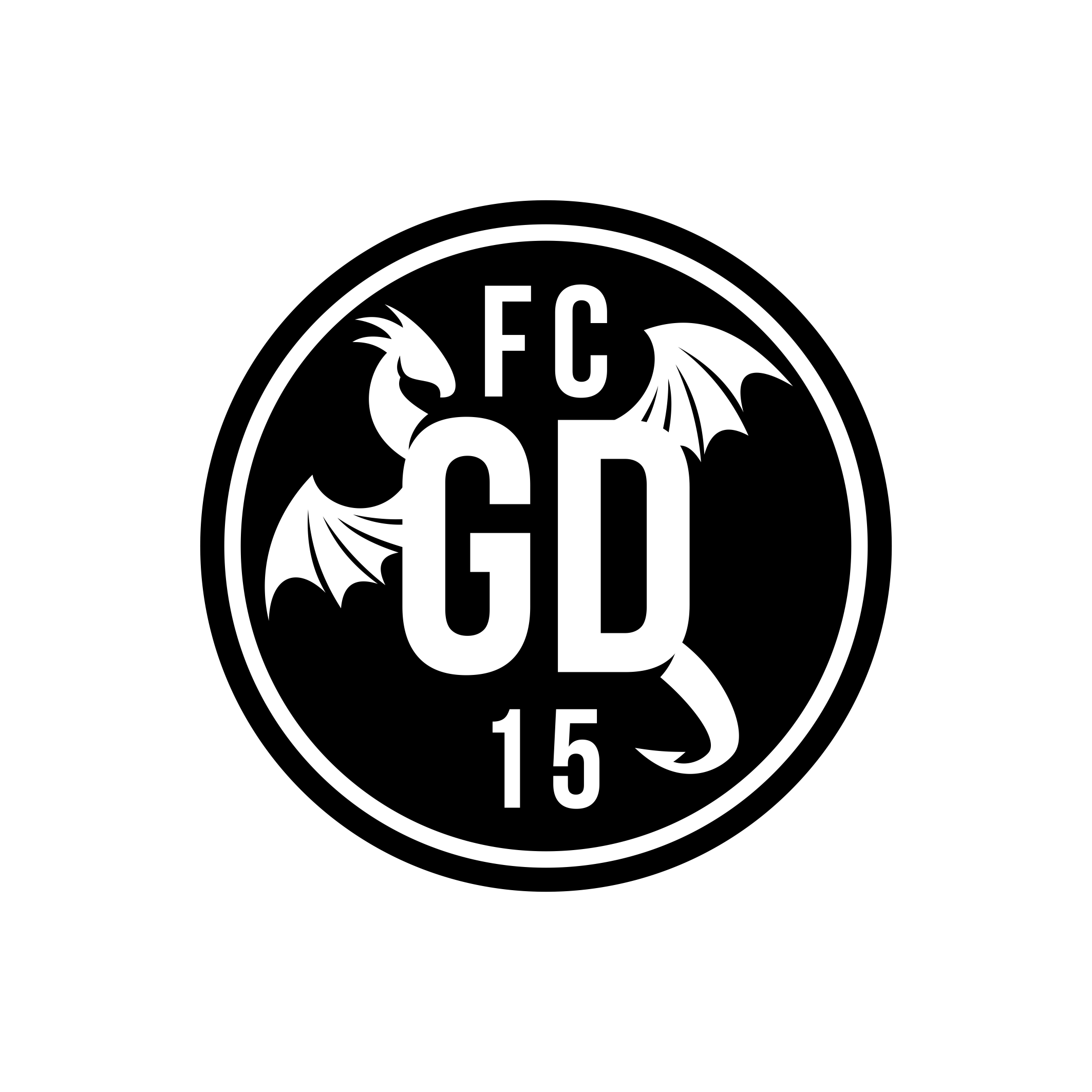 Soccer Team Roundel Design: Green Dragons FC