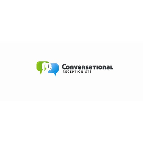 Friendly Receptionists | Conversational.com - Logo Design - Good Luck!