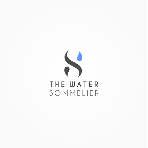Simply logo design for a Fine Water distribution company