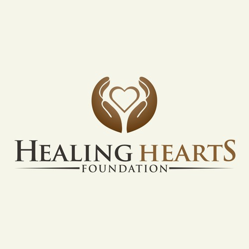 Help Healing Hearts Foundation with a new logo on existing website template