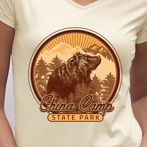 China Camp State Park T-shirt design