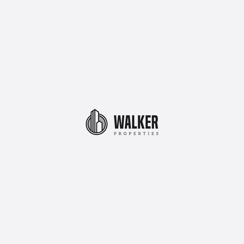 Walker Properties Concept Logo
