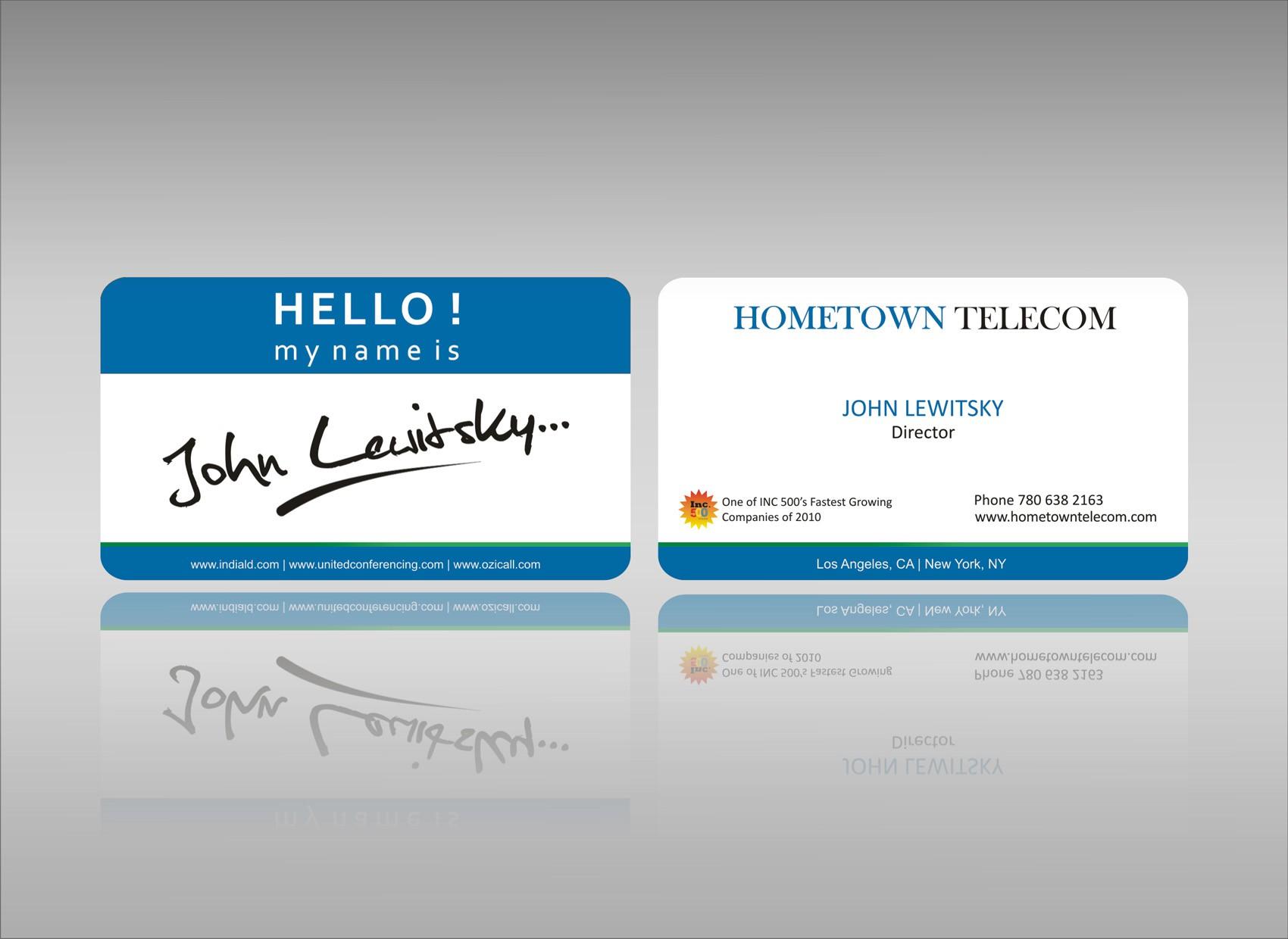 Business card for HTT