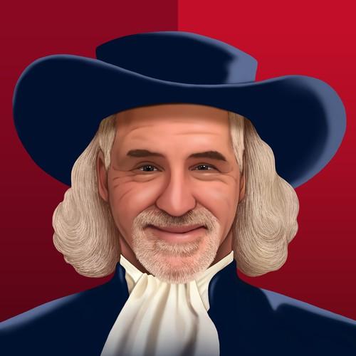 Quaker Oat Man