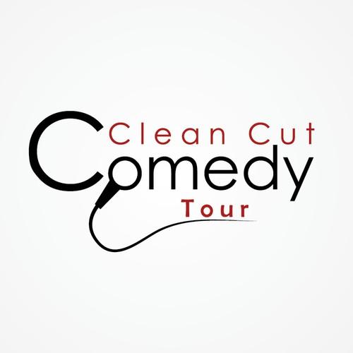 Create logo design for live comedy show
