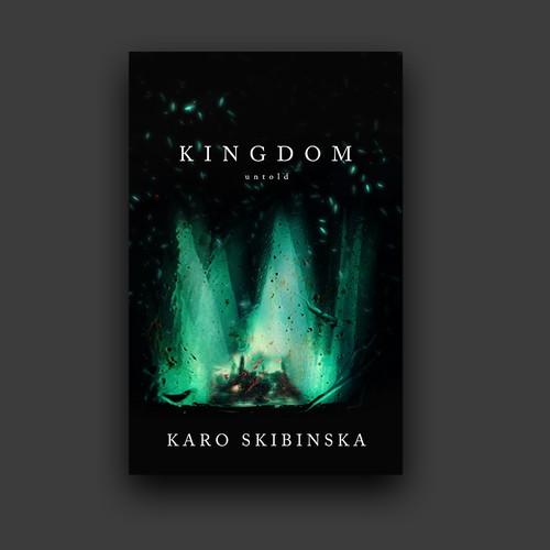 Simple fantasy book cover