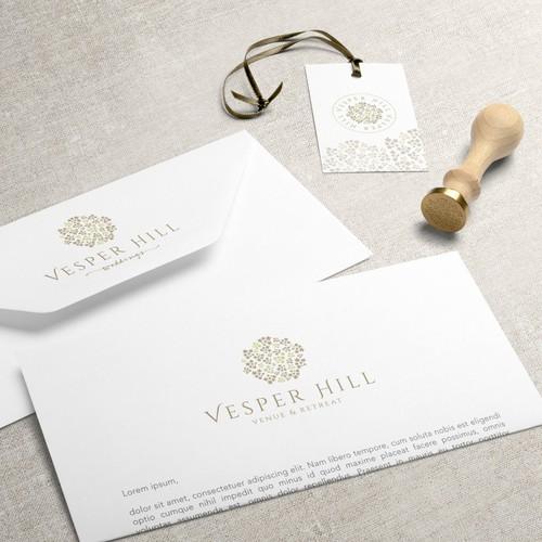 Brand Identiy for Vesper Hill, Venue & Retreat