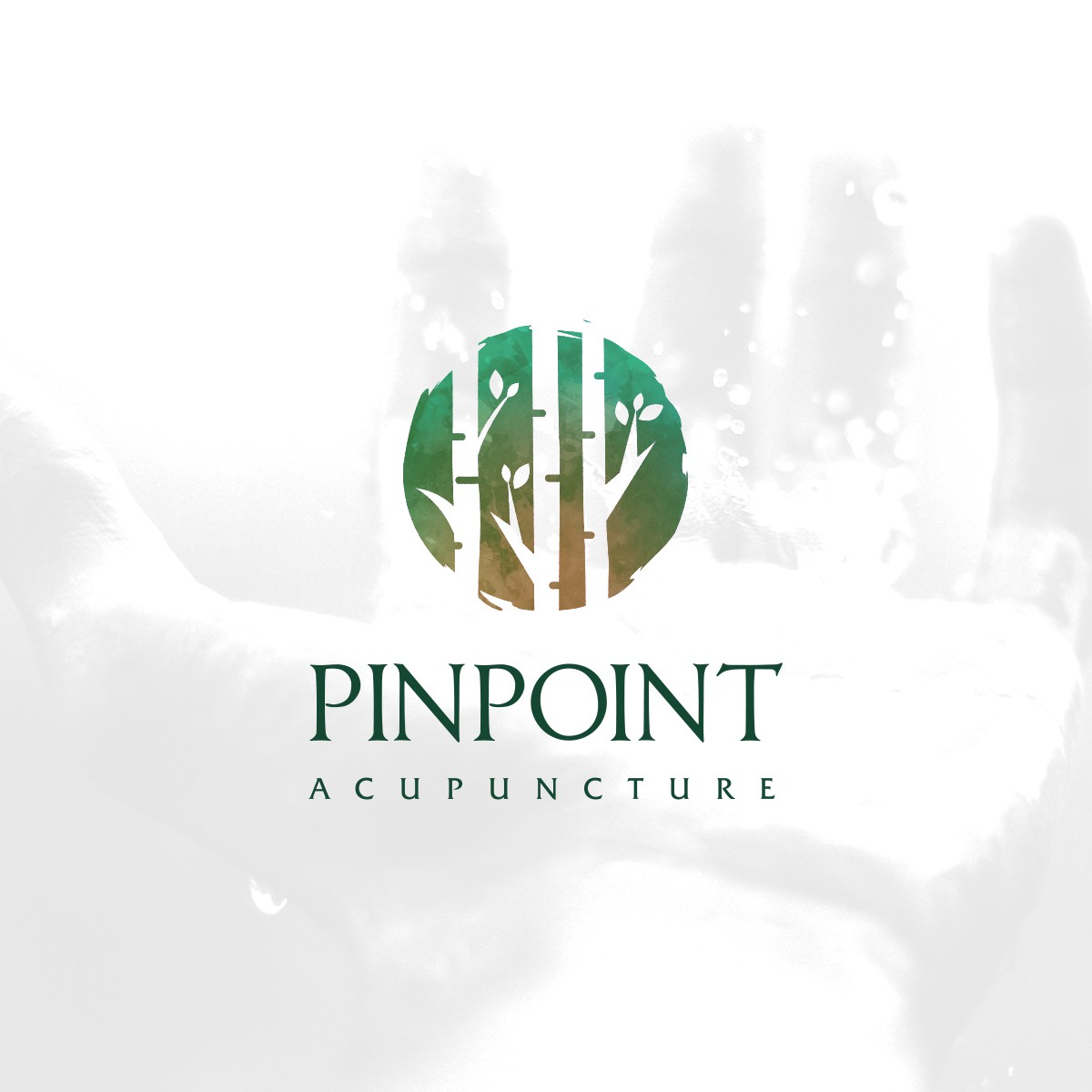 Pinpoint Acupuncture re-branding (logo, website and more)