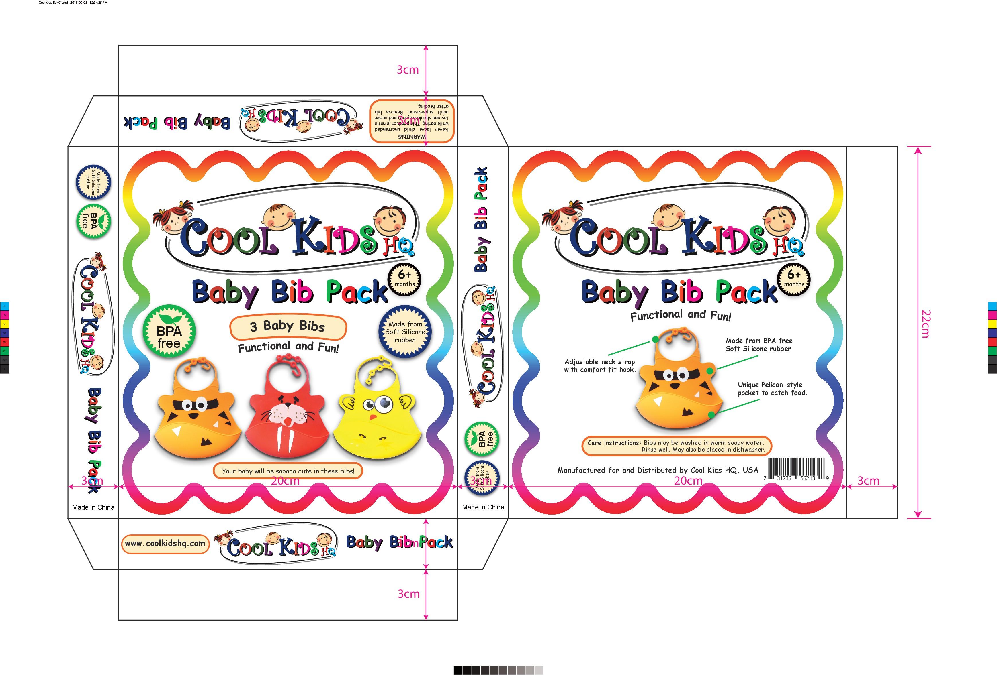 Design the Cutest Baby Bib Box Ever!!!