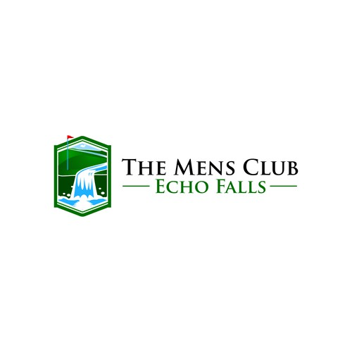 Logo concept for The Mens Club