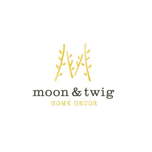 moon&twig home decor logo