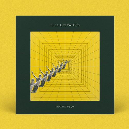 """Thee Operators """"Mucho Peor"""" single cover artwork"""